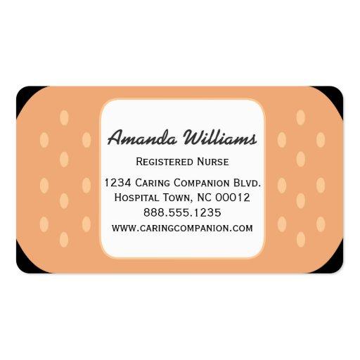 Band Aid Nurse Or Caregiver Business Card