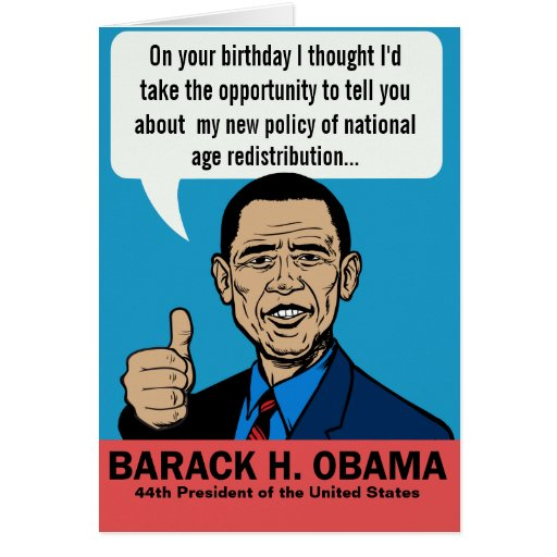 Political Birthday Cards, Political Birthday Card