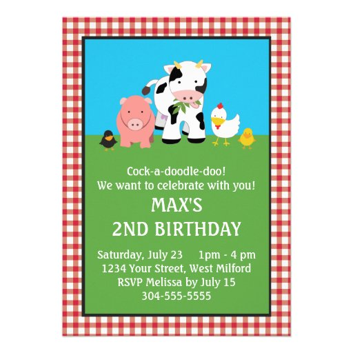 This Deals Barnyard Animal Friends Birthday Invitation We Have The Best Promotion For You And If Are Interested In Related Item Or Need More
