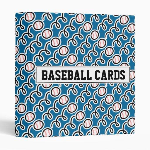 Baseball Card Binder (without Sleeves)