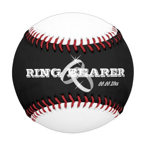 Baseball Wedding Gifts: Baseball Wedding Ring Bearer Gift Idea For Boy