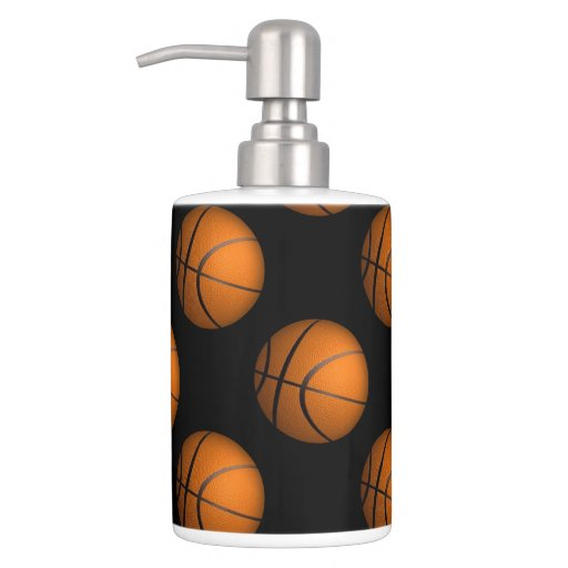 Basketball Sport Bathroom Accessories Bathroom Sets Zazzle