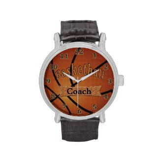 Basketball Watches, Gifts for Coaches Basketball