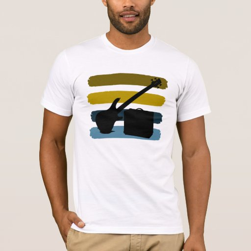 Bass Guitar and Amp T-Shirt