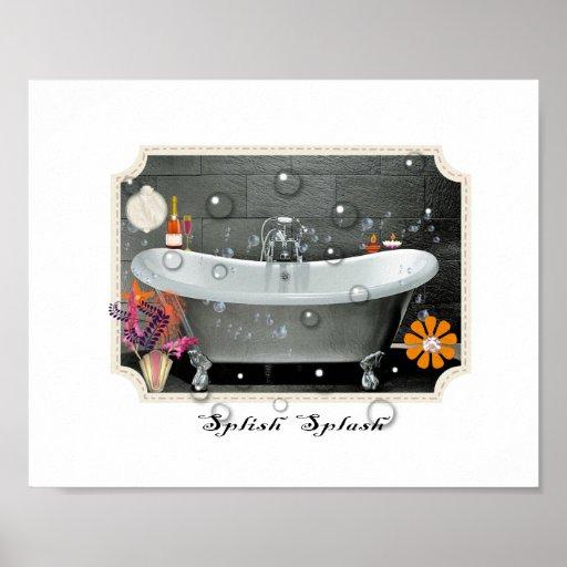 Bathroom Art Vintage: Vintage Bathroom Posters, Vintage Bathroom Prints, Art