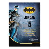 Invitations Batman Bat Man Birthday Happy Party