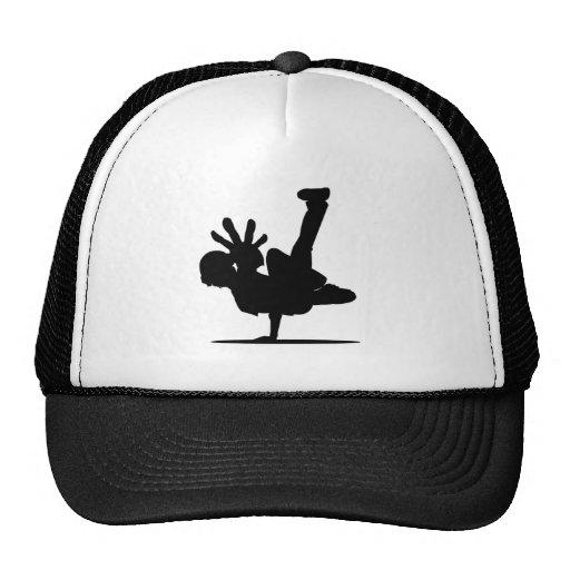 Inspiration Hut Grid Paper: BBOY Pose Black Hat