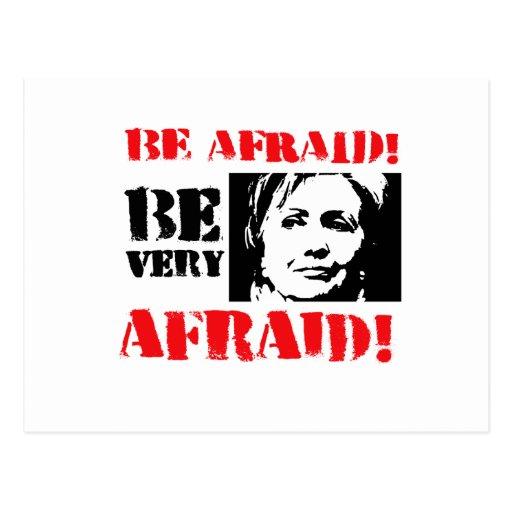 Be Very Afraid: Be Afraid Be Very Afraid Postcard