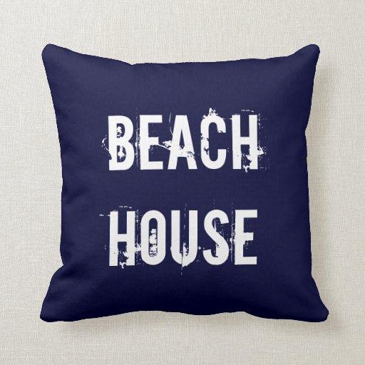 Beach Home Decor Pillows: Beach House Home Decor Pillow