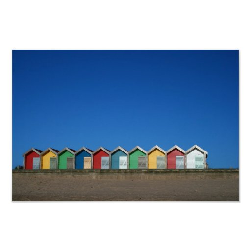 Inspiration Hut Grid Paper: Beach Hut Print