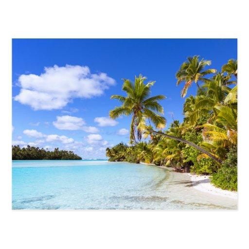 Cook Islands Beaches: Aitutaki, Cook Islands Postcard