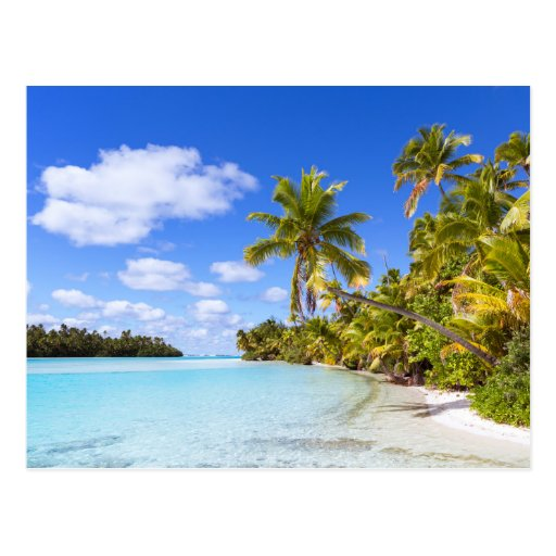 Cook Islands Rarotonga Beach: Aitutaki, Cook Islands Postcard