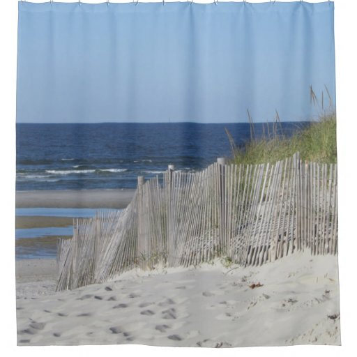 Coca Cola Gifts >> Beach scene shower curtain | Zazzle