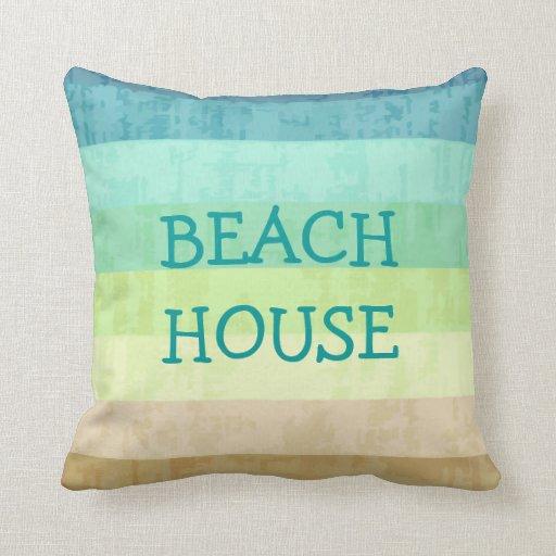 Beach Theme Blanket: Beach Theme Throw Pillows