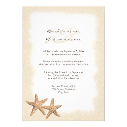 Wedding Reception Only Invitations