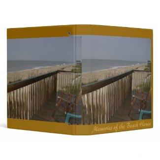Beachhouse Patio Binder binder