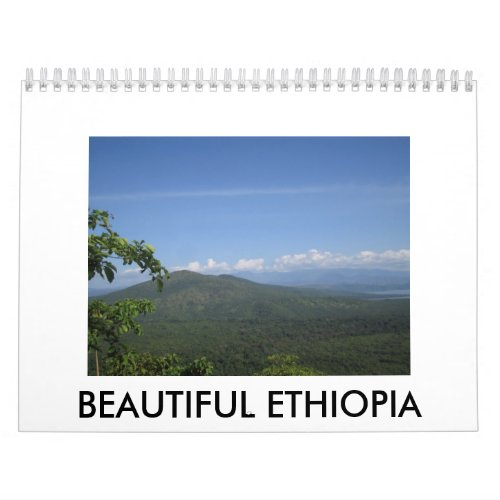 Beautiful Ethiopia calendar