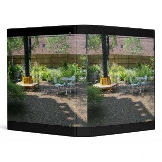 Beautiful Patio Garden Binder binder