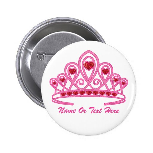 Who Is Button Beauty: Beauty Crown Custom Button