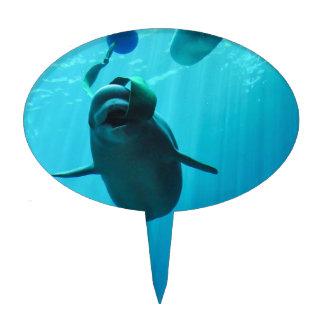 Beluga Whale Cake Topper