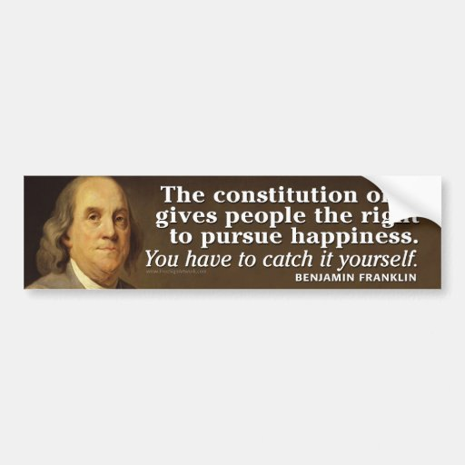 Constitution Quotes: Ben Franklin Quote On The Constitution Bumper Sticker