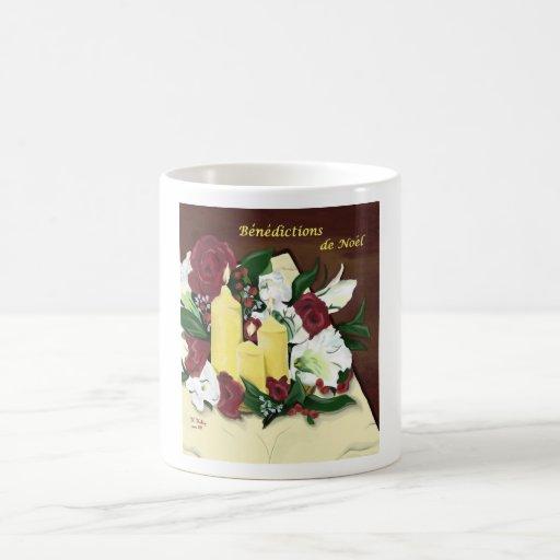 benedictions de noel grande tasse mugs zazzle. Black Bedroom Furniture Sets. Home Design Ideas