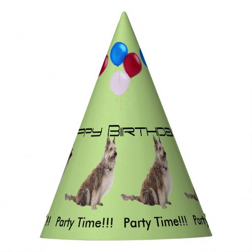 Berger Picard Birthday Party Hat | Zazzle