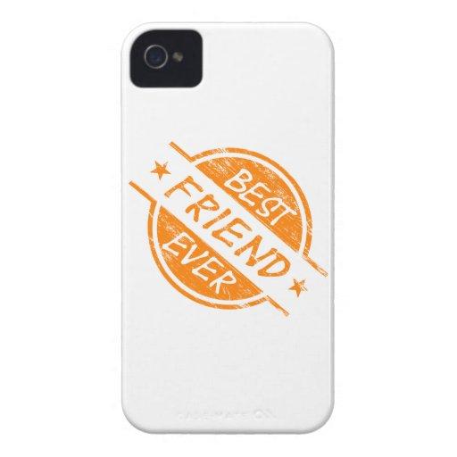 Best Friend Ever Orange iPhone 4 Case-Mate Case