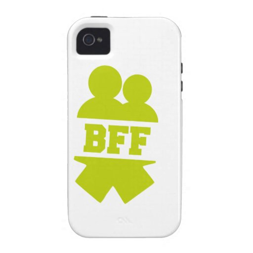 Best friends forever vibe iPhone 4 case