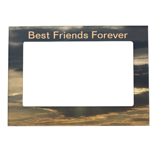 Best Friends Forever Picture Frame Zazzle
