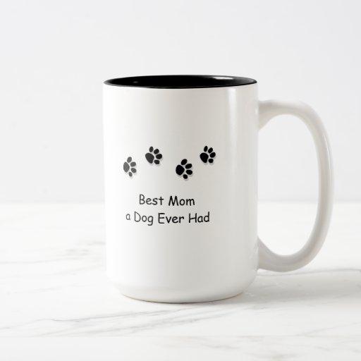 Best Mom A Dog Ever Had Travel Mug Zazzle
