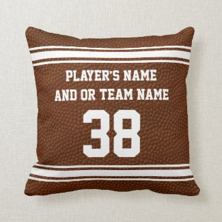 Best Senior Night Football Gifts PERSONALIZED Pillows