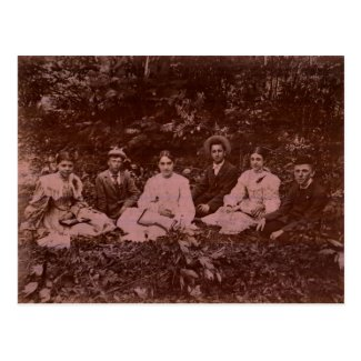Bible Study in the Woods circa 1900