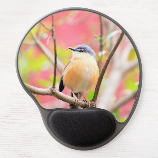 Bird Beautiful Colorful Nature Scenery Gel Mouse Pad