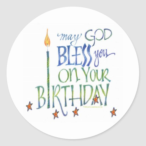 Blessings and Best Wishes Religious Birthday Card ...  |Birthday Blessings