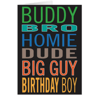 Male Friends Birthday Cards, Male Friends Birthday Card ...