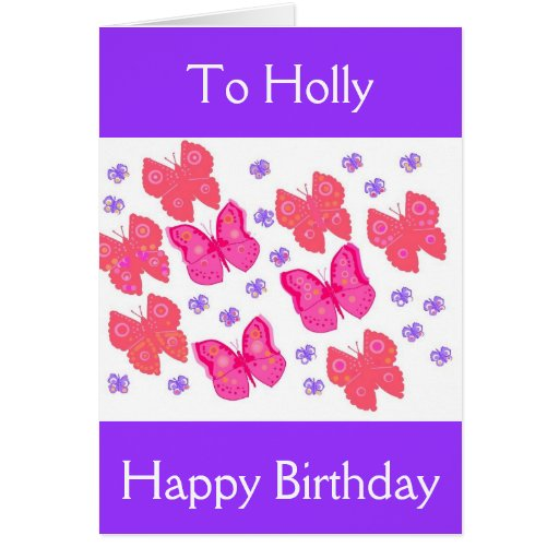 Birthday Card For Her, Add Name.message.