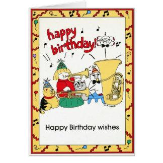 Group Birthday Card 28
