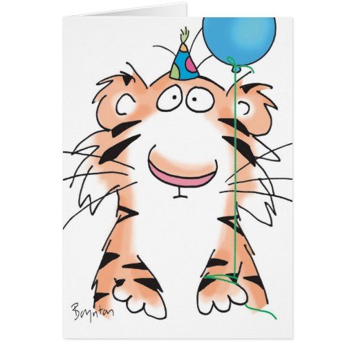 Deals BIRTHDAY TIGER GREETING CARD In Each Seller Make Purchase Online For Cheap Choose The Best Price And Promotion As You Thing Secure