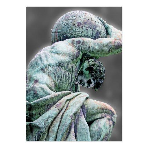 Bismarck Statue Berlin Greek God Atlas Grey Bac Business