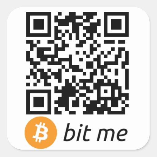Bitcoin qr code sticker - FOREX Trading