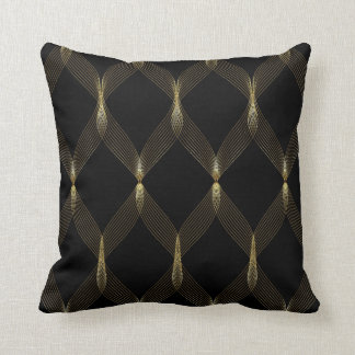 gold and black pillows gold and black throw pillows. Black Bedroom Furniture Sets. Home Design Ideas