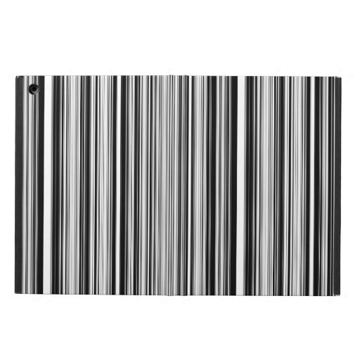 Black And White Lines iPad Air Cover | Zazzle
