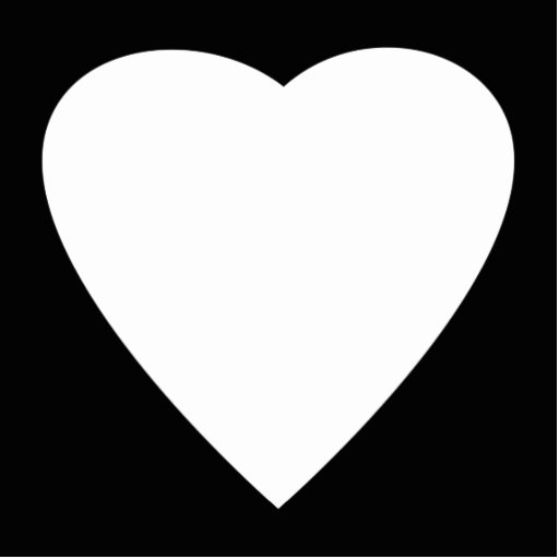 Black And White Love Heart | www.imgkid.com - The Image ...