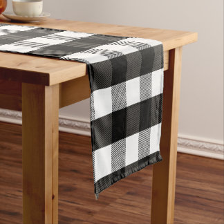 Buffalo Check Table Runners Zazzle