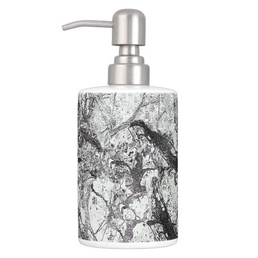 Black and white marble design bathroom accessories bath - Black marble bathroom accessories ...