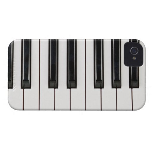 black and white piano keyboard case cover zazzle. Black Bedroom Furniture Sets. Home Design Ideas