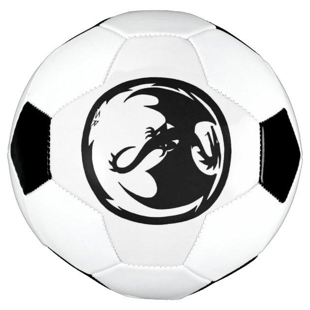Black Dragon Soccer Ball