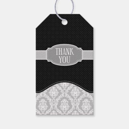 gray damask thank you - photo #5