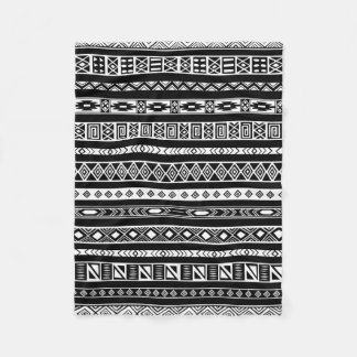 Tribal Pattern Fleece Blankets | Zazzle